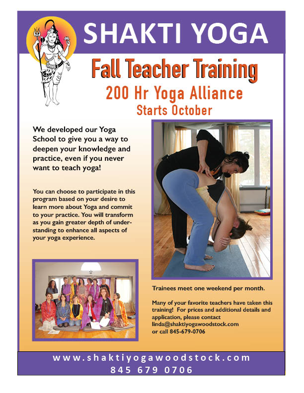 teacher training - fall